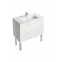 MUEBLE 80 CON CAJONES TEMPO IDEAL STANDARD BLANCO BRILLO